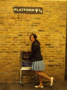 Platform 9 and 3/4: Taking a trip to Hogwarts